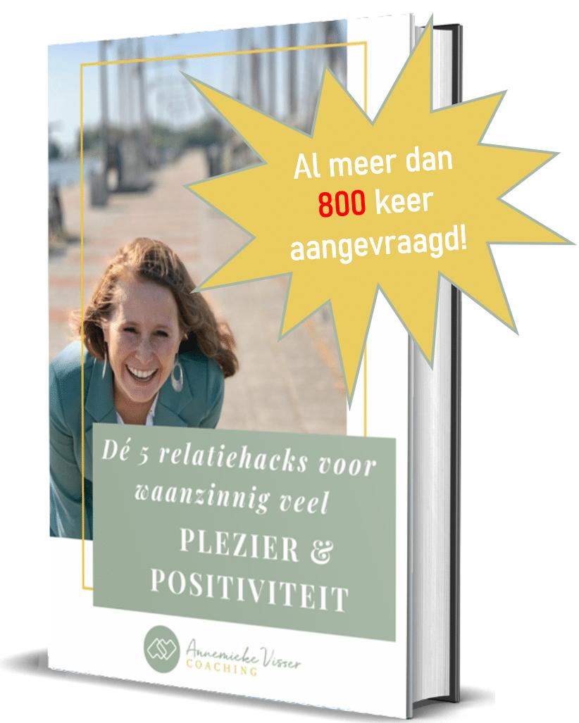 E-boek 5 relatiehacks voor meer plezier en positiviteit